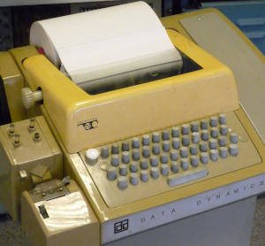 Teletype model 33 ASR, 1963